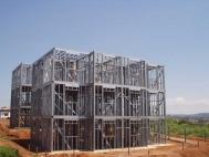 construção leve e rapida em steel frame