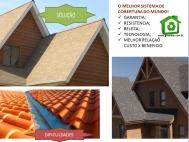 Telhado Shingle resolve problemas de vazamentos e é telhado com maior resistência a vento e com maior garantia do mercado
