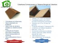 veja as diferenças entre trelha shingle e telha ceramica