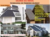 retirada da telha tradicional para montagem da telha Shingle Curitiba